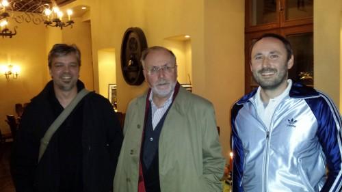 Ralf, Professor Wolf und Alex