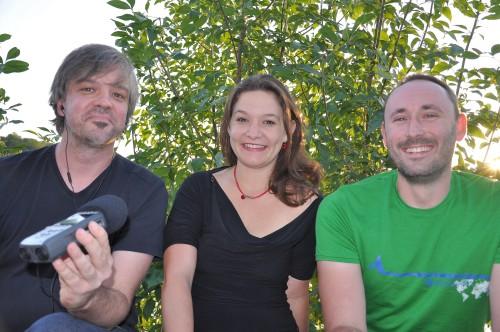 Ralf, Doris Aschenbrenner und Alex